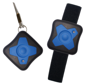 Mobile call trigger for emergency alarm with blue keys (Type: R/5002)