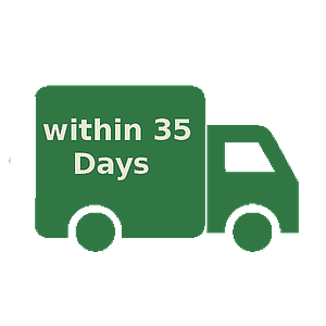 Default delivery within 35 days per 5Kg without bulky freight